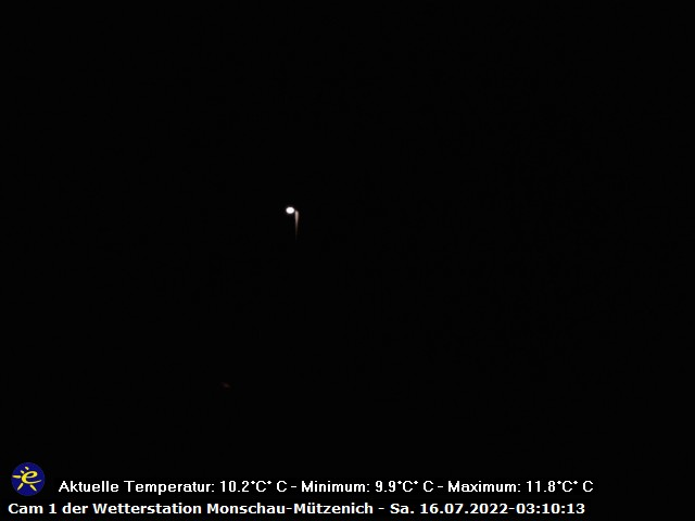 WetterCam1 der Wetterstation Mützenich